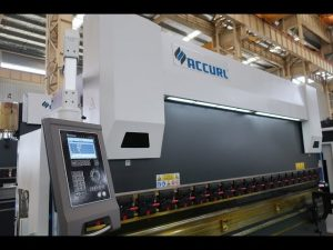 4 యాక్సిస్ CNC ప్రెస్ బ్రేక్ మెషిన్ 175 టన్ను x 4000 మి.మీ.