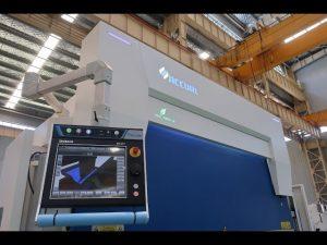 8 అక్షం CNC హైడ్రాలిక్ ప్రెస్ బ్రేక్ 110 టన్ను 3200mm