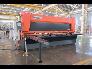 CNC హైడ్రాలిక్ గిలెటిన్తో మాస్టర్ వేరియబుల్ రేక్ MS8-10x4000mm కదిలిస్తుంది